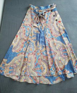 Zara Silk Skirt multicolored