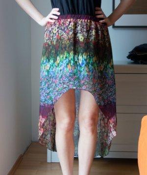 Zara Rock Blumen Muster Gr. M 38 Gummibund