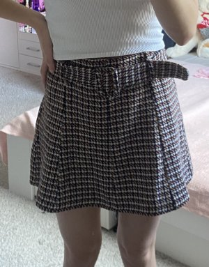 Zara Tweedowa spódnica Wielokolorowy