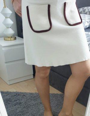 Zara Minigonna beige chiaro