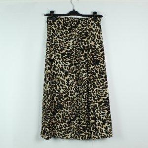 ZARA Rock Gr. S schwarz braun Leopard (20/02/498)