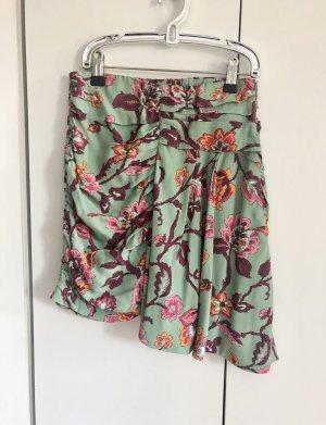 Zara Rok met hoge taille veelkleurig