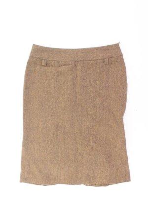 Zara Rock Größe 38 braun aus Wolle