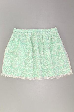 Zara Rock Größe S grün aus Baumwolle