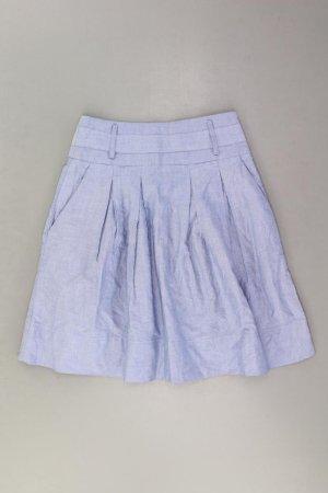 Zara Rock Größe XS blau aus Baumwolle