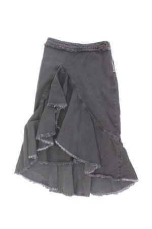 Zara Rock Größe XS grau aus Baumwolle
