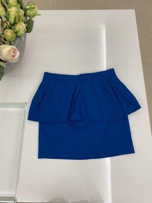 Zara Rock in 36 / S blau mit Schößchen