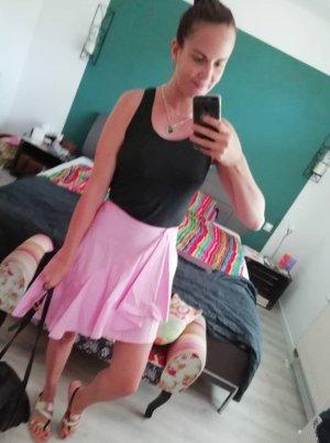 Zara High Waist Skirt light pink