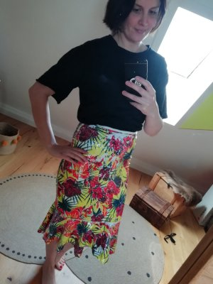 Zara High Waist Skirt yellow
