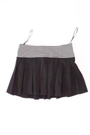 Zara Rock schwarz gestreift Größe L