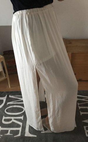 Zara Trafaluc Maxi Skirt white