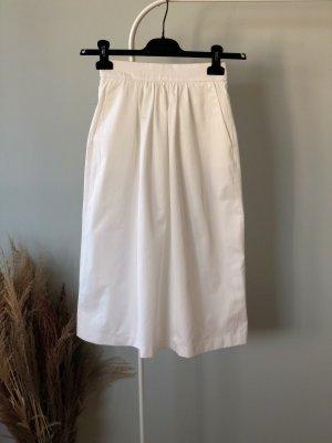 Zara Rok met hoge taille wit