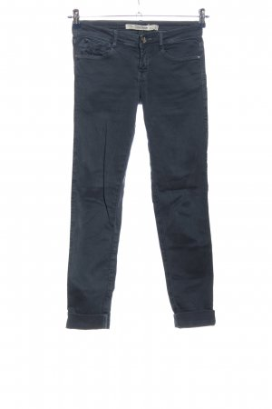 Zara Pantalone a sigaretta blu stile casual