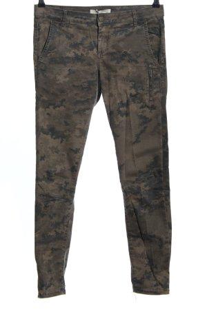 Zara Röhrenhose Camouflagemuster Casual-Look