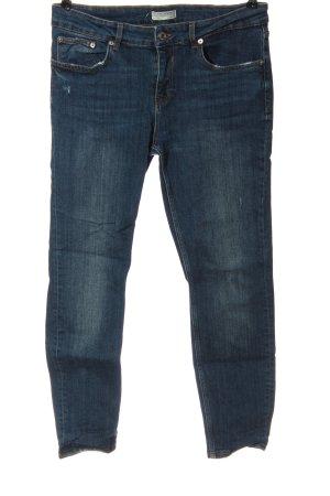 Zara Jeans cigarette bleu style décontracté