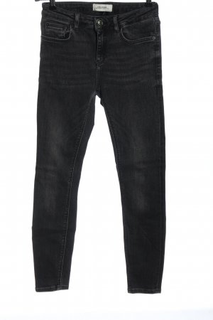 Zara Tube Jeans light grey casual look