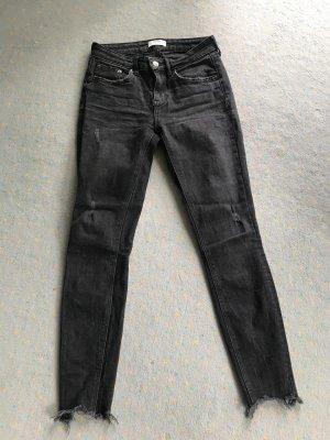 Zara Tube Jeans anthracite