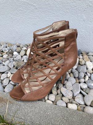 Zara Römersandalen Sandaletten mit Absatz