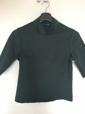 Zara Neckholder Top dark green