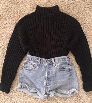 Zara Turtleneck Sweater black