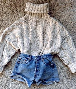 Zara Turtleneck Sweater natural white