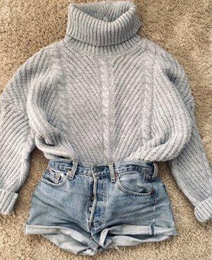 Zara Turtleneck Sweater grey