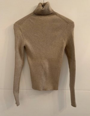 Zara Turtleneck Sweater beige-camel