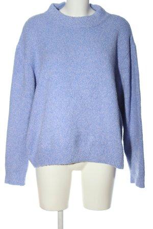 Zara Rollkragenpullover blau Casual-Look