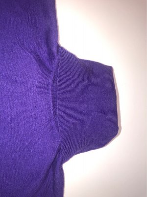 Zara Jersey de cuello alto lila-violeta oscuro