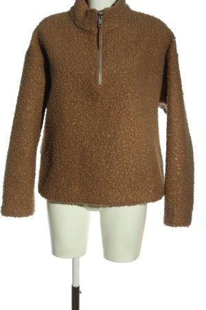Zara Jersey marinero marrón look casual