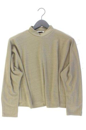 Zara Rollkragenpullover Größe S olivgrün aus Polyester