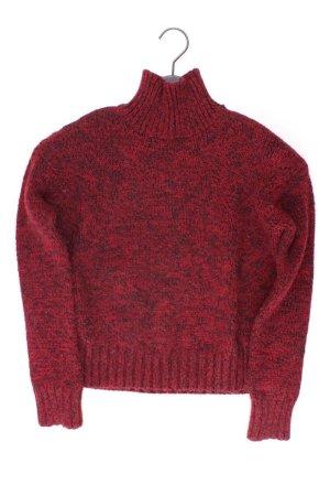Zara Rollkragenpullover Größe S rot aus Polyacryl