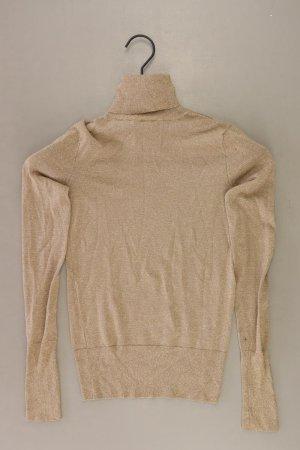 Zara Turtleneck Shirt gold-colored