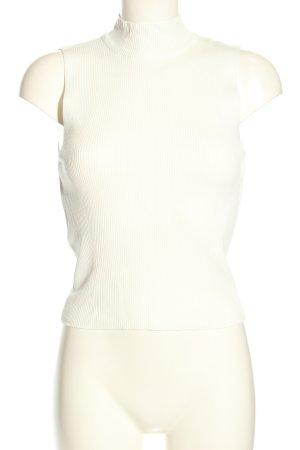 Zara Haut col roulé blanc style décontracté