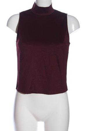 Zara Neckholder Top lilac casual look