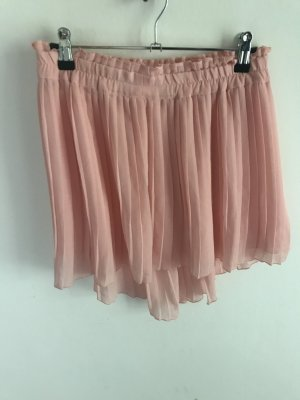 Zara rosa Plisserock