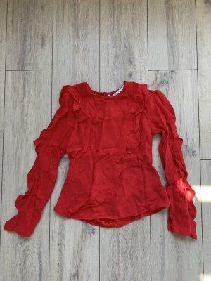 Zara – rot Bluse – EUR XS