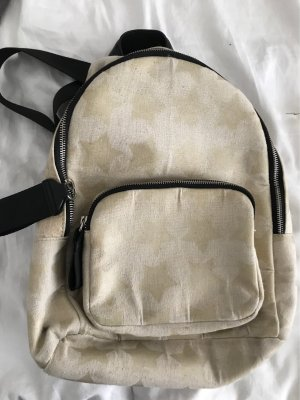 Zara Accesoires Laptop Backpack gold-colored-pale yellow