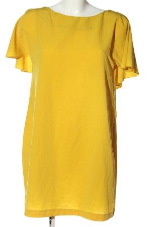 Zara Sukienka koszulowa bladożółty W stylu casual