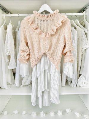 Zara Wool Sweater pink-apricot