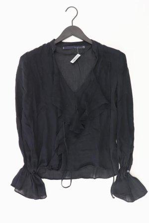 Zara Blouse à volants noir