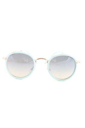 Zara Ronde zonnebril veelkleurig casual uitstraling
