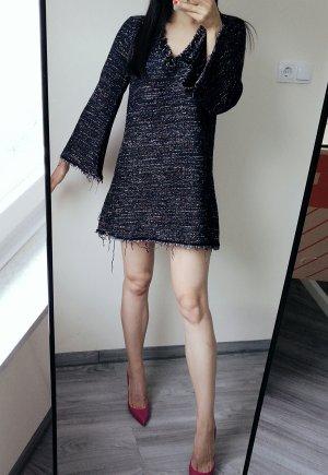 Zara S Kimono Style aus Tweed Winter Minikleid