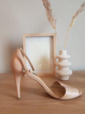 zara SALE pumps sandalen nude Gr. 41