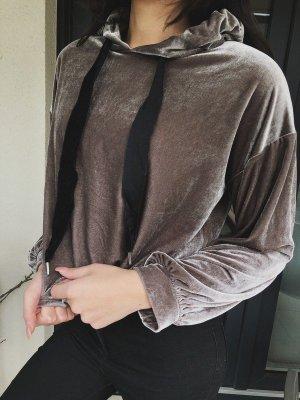 Zara Hooded Sweater anthracite
