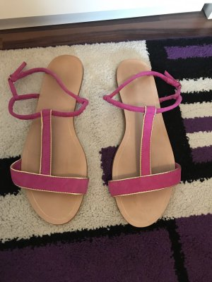 Zara Basic Outdoor sandalen violet