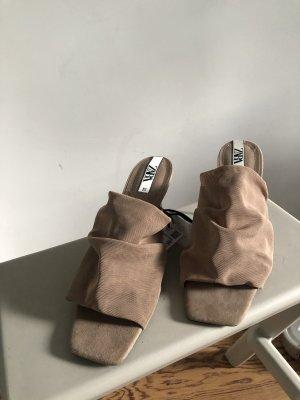 Zara Sandaletten Beige