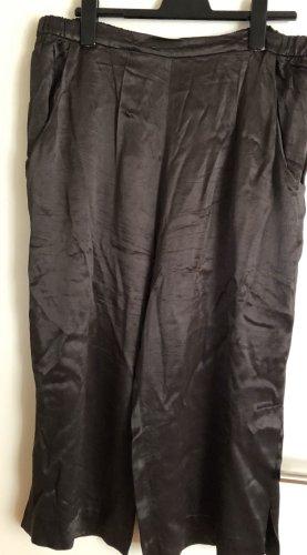 Zara Pantalone culotte nero