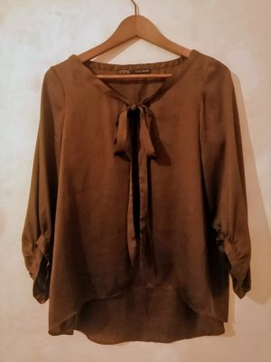 Zara Satin Look Blouse S