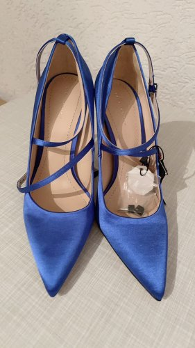 Zara Satin Pumps,37